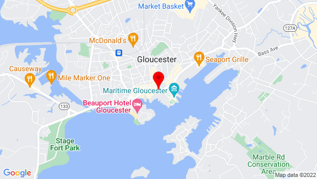 Google Map of 68a Rogers Street, Gloucester, MA 01930
