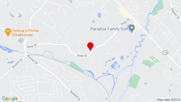 Google Map of 69 River St, Middleton, MA 01949