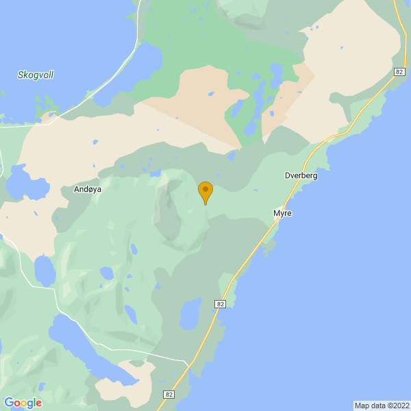 Google Map of 69.108403,15.886559