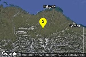 61km SSW of Kaktovik, Alaska