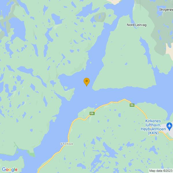 Google Map of 69.7578532,29.6859465