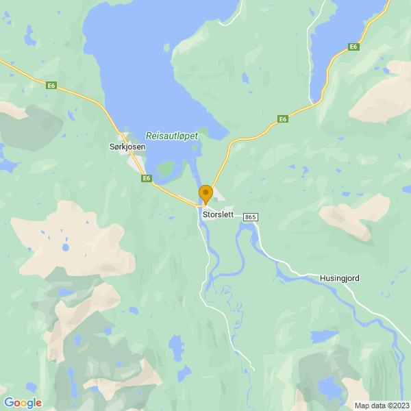 Google Map of 69.767828,21.0246586