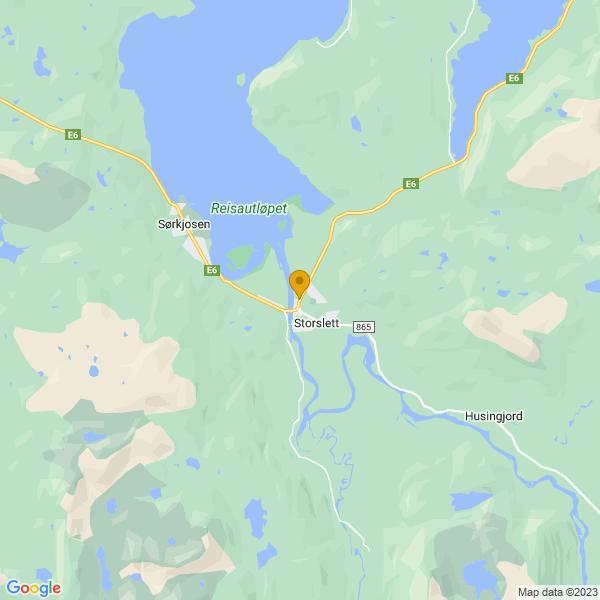 Google Map of 69.7700629,21.025740499999983