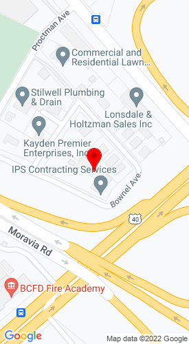 Google Map of Bobcat of Baltimore 6900 Bownel Avenue, Baltimore, MD,