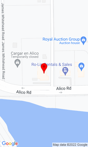 Google Map of Specialized Lift Truck 6901 Alico Rd, Ft Myers, FL, 33912