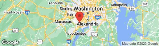 Map of 6906 BETHNAL COURT SPRINGFIELD, VA 22150