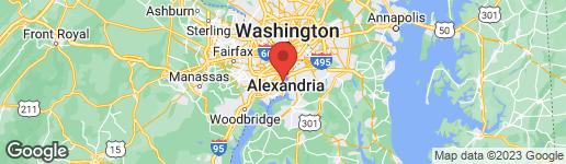 Map of 6911 CLEMSON DRIVE ALEXANDRIA, VA 22307