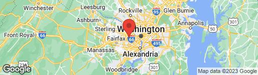 Map of 6929 WILLIAMSBURG BOULEVARD ARLINGTON, VA 22213