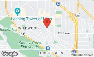 Map of 6936 North Chicora Avenue CHICAGO, IL 60646