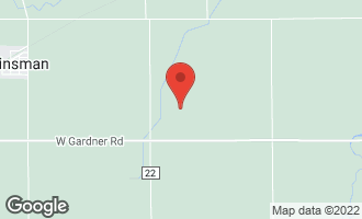 Map of 6940 West Gardner Road KINSMAN, IL 60437