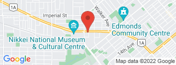 Google Map of 6984+Kingsway%2CBurnaby%2CBritish+Columbia+V5E+1E6