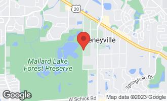 Map of 6N257 Cloverdale Road KEENEYVILLE, IL 60172