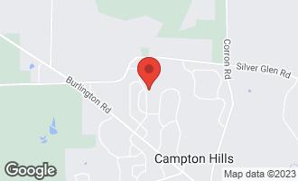 Map of 6N907 Brierwood Drive CAMPTON HILLS, IL 60175