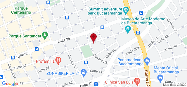 Google Map of 7.119374700840105,-73.11929225921631