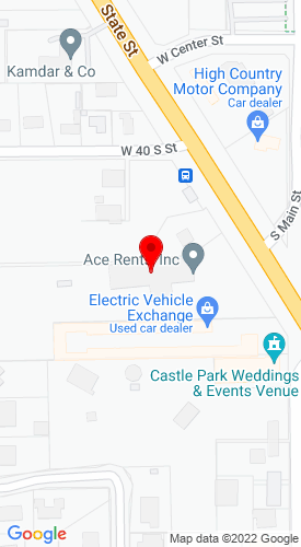 Google Map of Ace Rents, Inc. 70 S State St, Lindon, UT, 84042