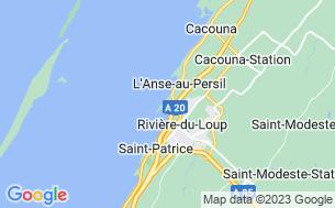 Map of Camping Du Quai