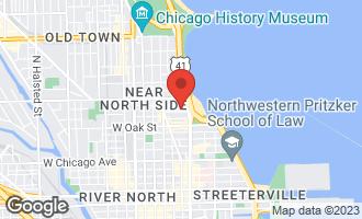 Map of 70 East Cedar Street 7W CHICAGO, IL 60611