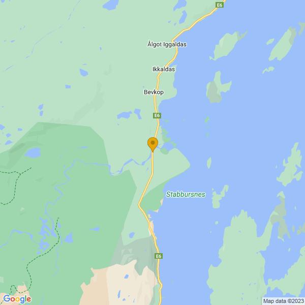 Google Map of 70.179734,24.9090309