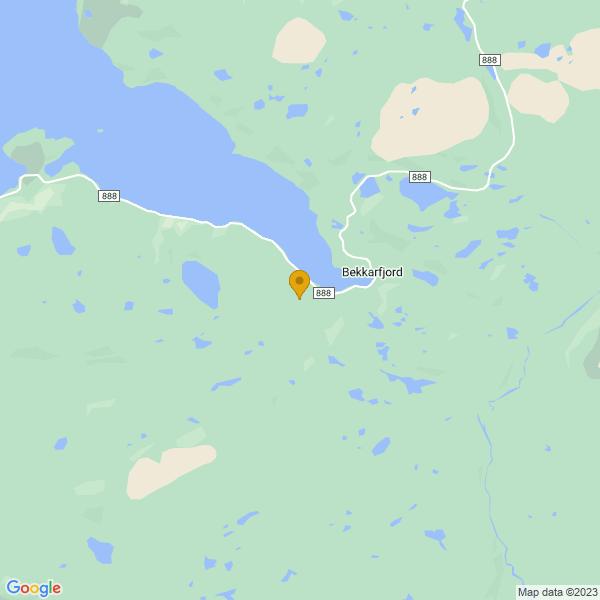 Google Map of 70.58300958052014,27.22953901008089