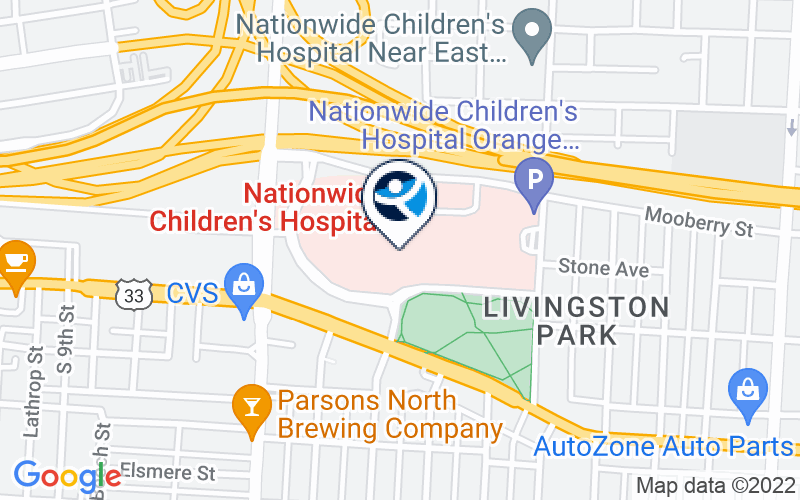 Nationwide Childrens Hospital Location and Directions