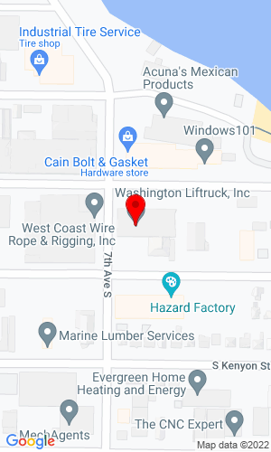 Google Map of Pacific JCB 700 S Chicago Street, Seattle, WA, 98108