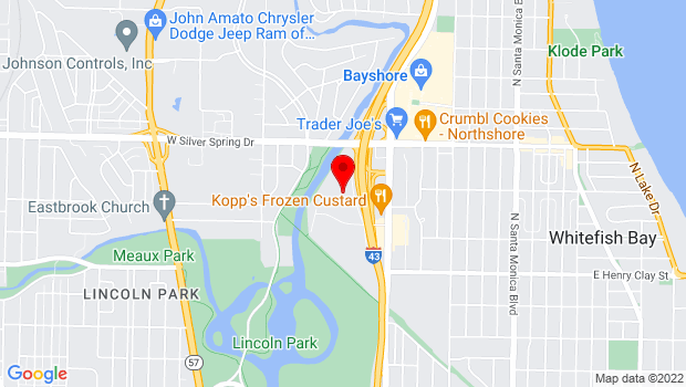 Google Map of 700 W. Lexington Blvd., Milwaukee, WI 53217