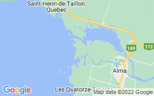 Map of Camping Colonie Notre-Dame