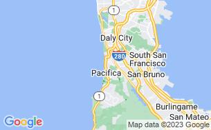 Map of San Francisco RV Resort