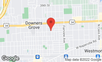 Map of 700 Grant Street DOWNERS GROVE, IL 60515