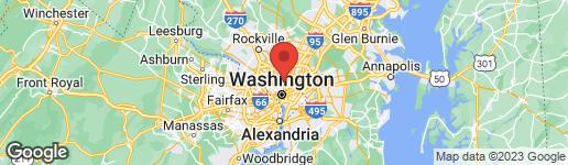 Map of 700 JEFFERSON STREET NW #401 WASHINGTON, DC 20011