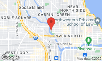 Map of 700 North Larrabee Street #807 CHICAGO, IL 60654