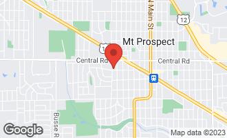 Map of 700 West Busse Avenue MOUNT PROSPECT, IL 60056