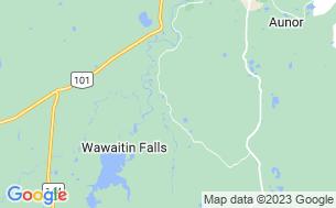 Map of Wawaitin Holiday Park