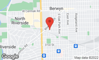 Map of 7007 26th Place BERWYN, IL 60402