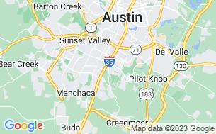 Map of Austin Lone Star RV Resort