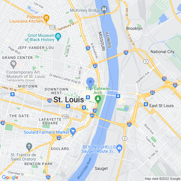 Wizard World: St. Louis Map