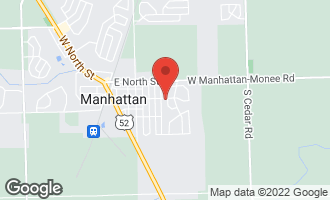 Map of 701 1st Street MANHATTAN, IL 60442