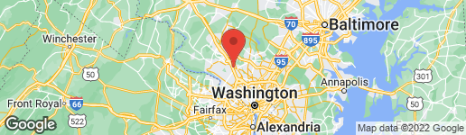 Map of 701 MONTGOMERY AVENUE W ROCKVILLE, MD 20850
