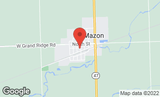 Map of 701 Park Street MAZON, IL 60444