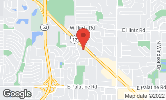 Map of 701 West Rand Road #226 ARLINGTON HEIGHTS, IL 60004