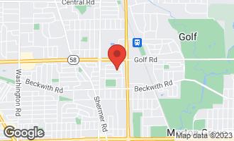 Map of 7019 Foster Street MORTON GROVE, IL 60053