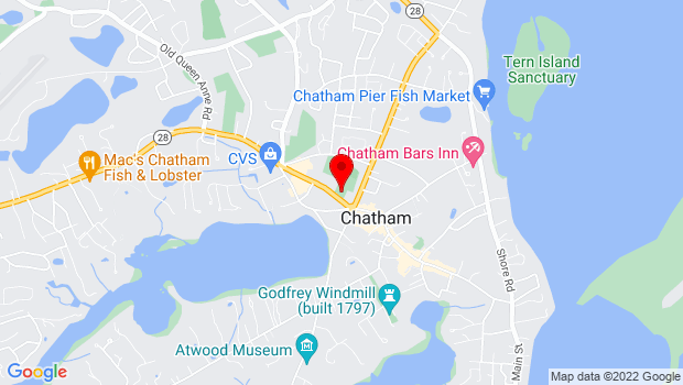 Google Map of 702 Main Street, MA 02633