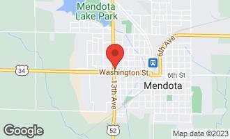 Map of 703 13th Avenue MENDOTA, IL 61342