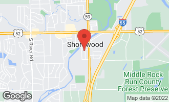 Map of 703 Franklin Road SHOREWOOD, IL 60404
