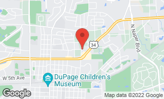 Map of 703 Red Oak Court NAPERVILLE, IL 60563