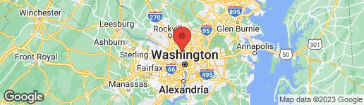 Map of 7045 WESTERN AVENUE NW WASHINGTON, DC 20015