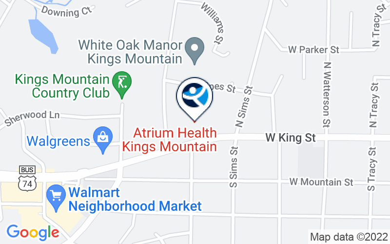 Kings Mountain Hospital - Adult Location and Directions