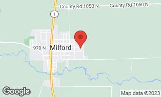 Map of 706 East Jones Street MILFORD, IL 60953