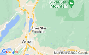 Map of Cedar Falls Campground & RV Park