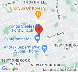Google Map of 7064+Yonge+Street%2CThornhill%2COntario+L4J+1V7
